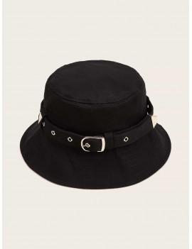 Belt Decor Bucket Hat