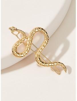 1pc Snake Decor Hairpin