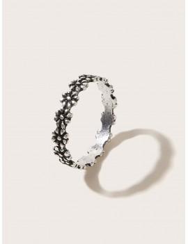 1pc Ditsy Flower Ring