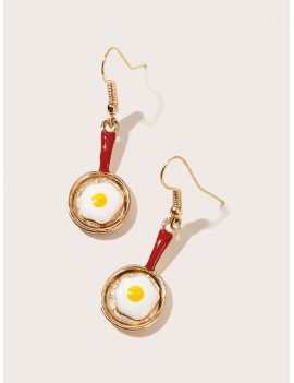 1pc Mini Pan Drop Earrings