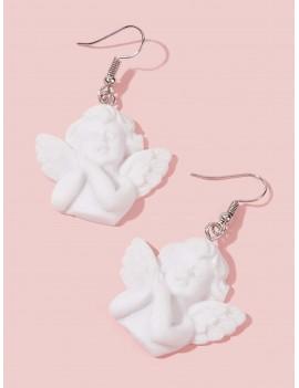 1pair Angel Drop Earrings