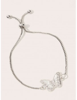 Butterfly Decor Chain Bracelet