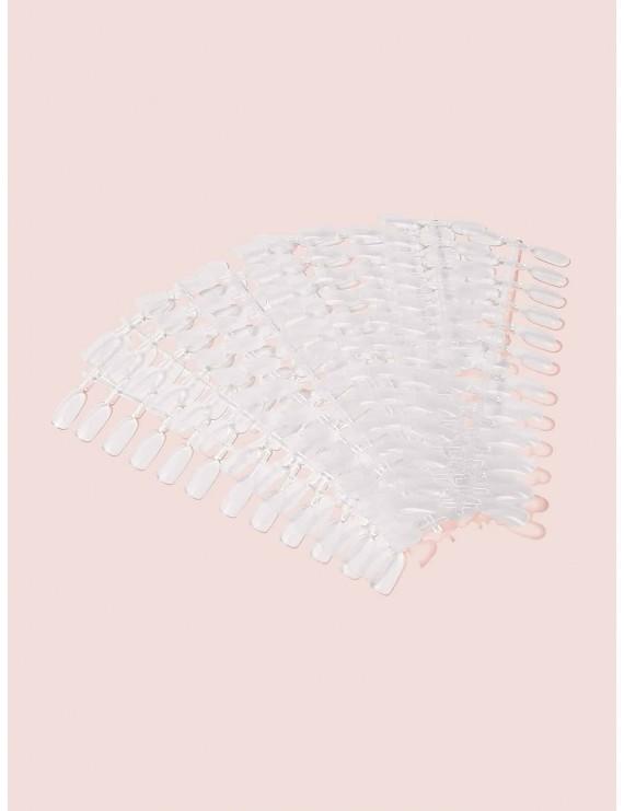 Ultra-thin Transparent Fake Nails 10pack