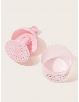Letter Pattern Facial Foaming Bottle