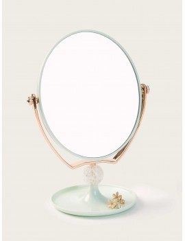 Random Color Oval Pedestal Mirror 1pack