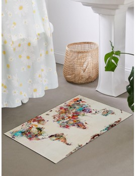 Abstract Oil Painting Pattern Floor Mat