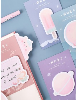 30sheets Cartoon Graphic Sticky Note