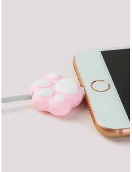 Cat Claw Shaped Charger Cable Protector 1pc